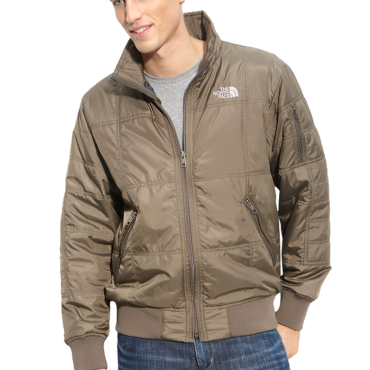 The North Face Boss Quilted Bomber Jacket